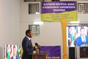 Dr. Mutua made a passionate appeal during the televised launch
