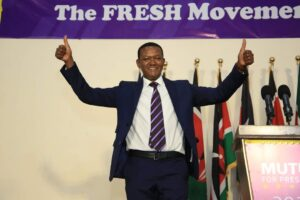 Alfred Mutua Launches his presidential bid for 2022