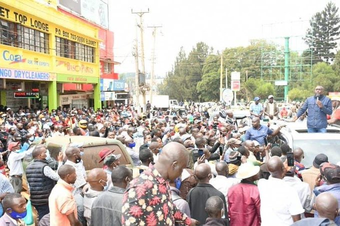 Police fail to arrest Sudi after overnight standoff with his supporters