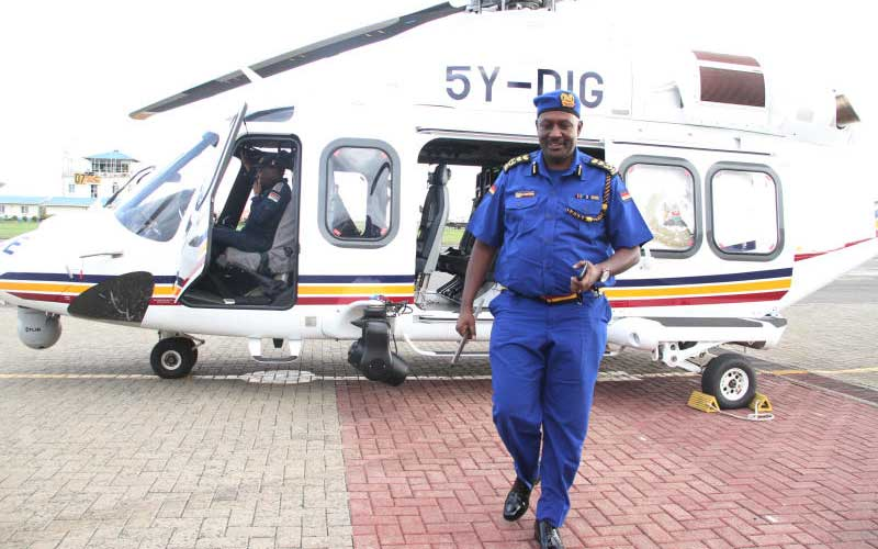 Military to take over Kenya Police Service choppers and planes