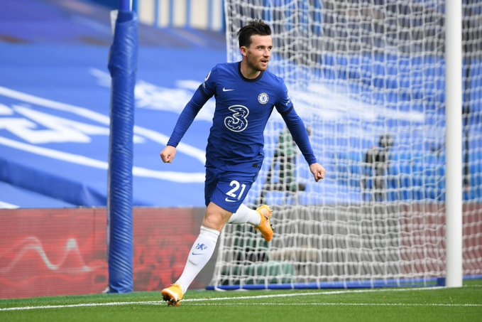 Ben Chilwell scored on his Chelsea debut