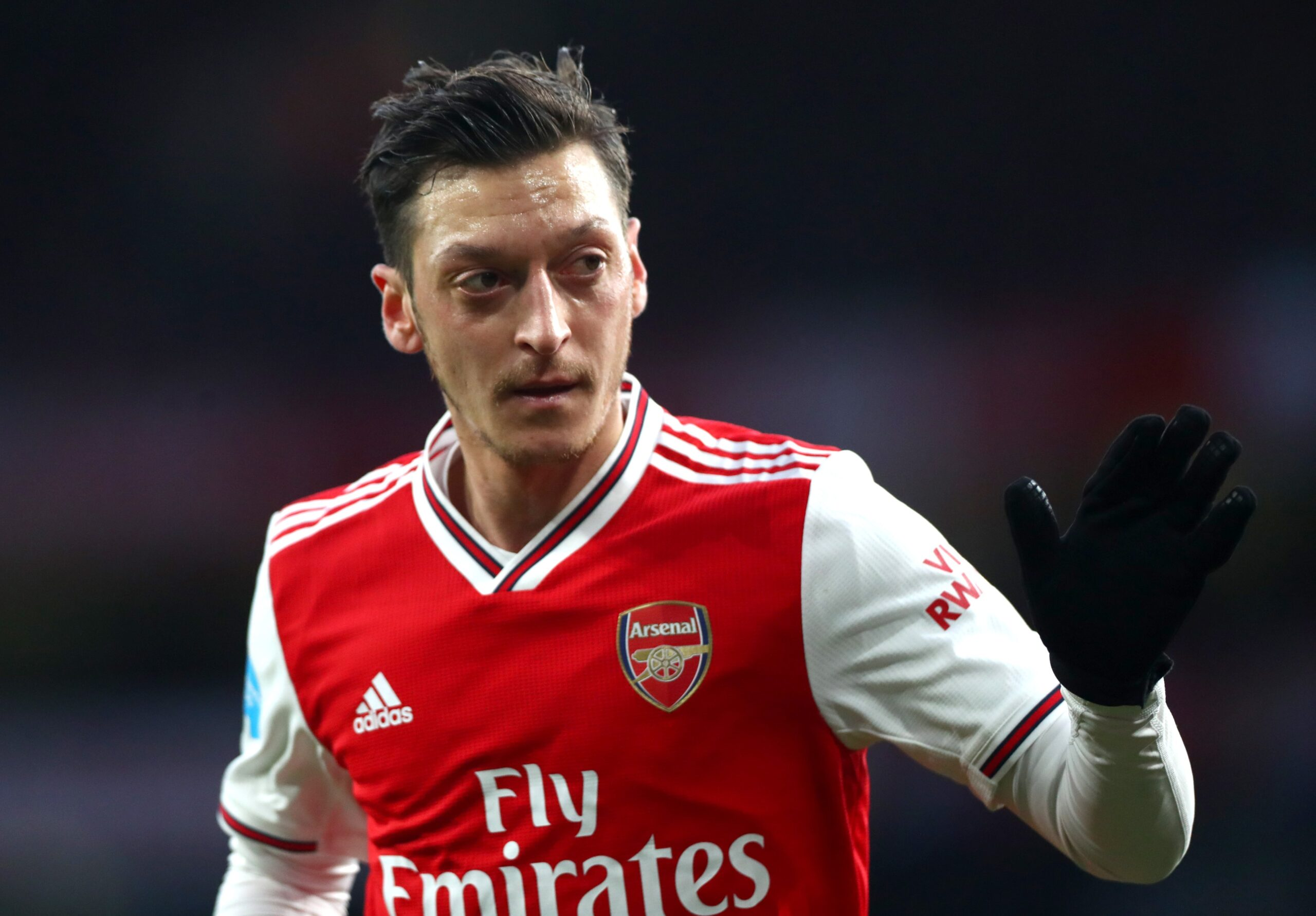 Ozil's future in Arsenal now looks uncertain.